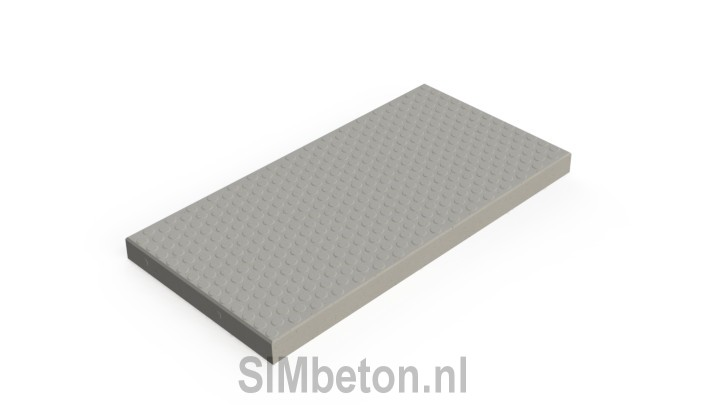 Concrete slabs anti-slip | SIMbeton