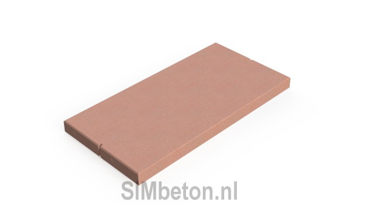 Colored concrete slabs | SIMbeton